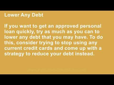 Quick Tips That Can Help You Get Approved For A Cheap Personal Loan With Bad Credit Lenders