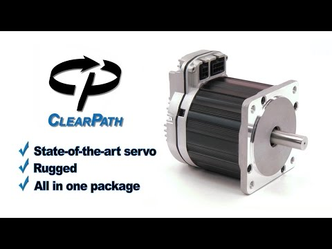 ClearPath: Teknic's Integrated Digital Brushless Servo Motor and Drive