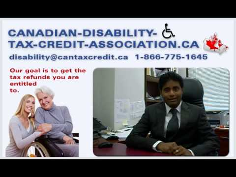 Disability Tax Credit Canada | Get refunds now. Call 416-626-2727!  (cantaxcredit.ca)