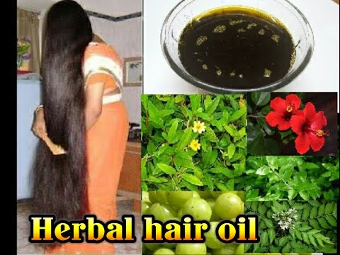 Herbal Hair growth oil | bringha oil | anti hair fall oil in tamil