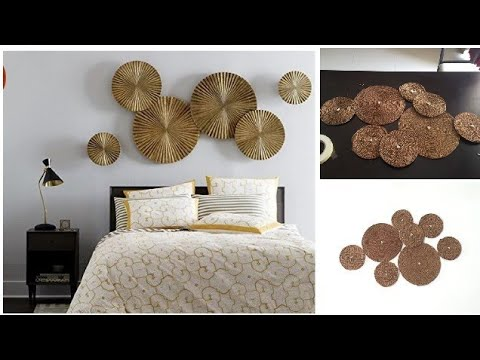 HOW TO MAKE WALL ART USING WASTE MATERIAL(हिंदी) || Easy Statement wall DIY || Best of waste
