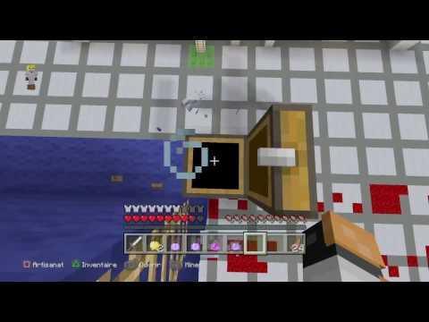 HUNGER GAMES #1 LA CARTE DE LA MORT   Minecraft Ps4 FR