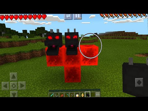 How to Spawn the Red Dragon Boss in Minecraft Pocket Edition