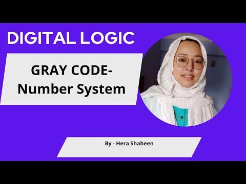 GRAY CODE --- IN DIGITAL LOGIC NUMBER SYSTEM IN HINDI/URDU