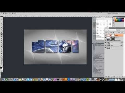 PHOTOSHOP: Design A Futuristic DJ Logo - J.Sci - Xtra2Rest, Ep.#15