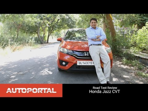 Honda Jazz CVT Test Drive Review - Autoportal