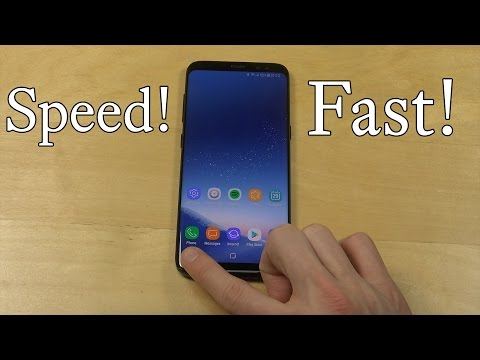 How To Make Samsung Galaxy S8 Faster by Removing Animations!