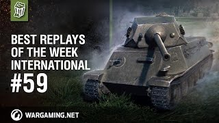 World of Tanks - Best Replays of the Week International #59