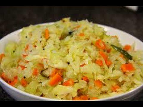 muttaikose/carrot masala poriyal recipe in tamil/cabbage poriyal south indian vegetable poriyal