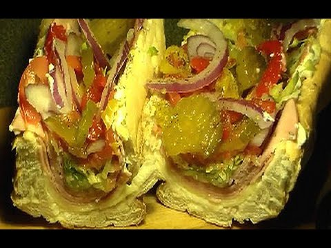 How To Make A PHILLY (Italian HOAGIE) From Home  Philly SUB Sandwich Recipe