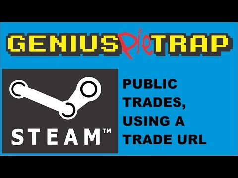 Steam Public Trading Using A Trade Url In Steam Trade With Anyone