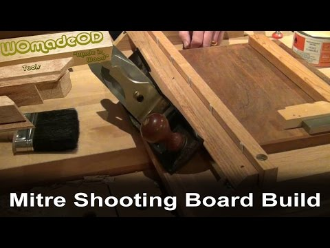 Mitre Shooting Board - How to build one FREE PLANS