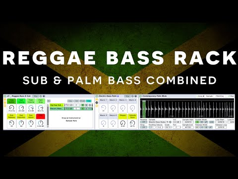 Ableton Tutorial: Reggae Sub & Palm Bass Rack [Free Rack]