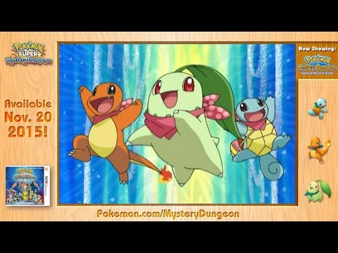 Pokémon Mystery Dungeon: Team Go-Getters Out of the Gate