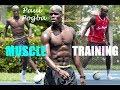Paul Pogba A Footballers Gym Workout Prt8