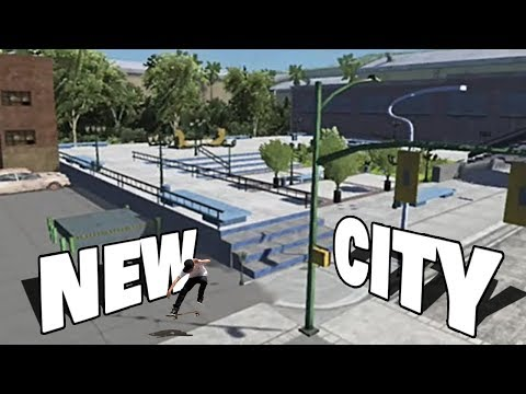 NEW AWESOME CITY PARK IN SKATE 3