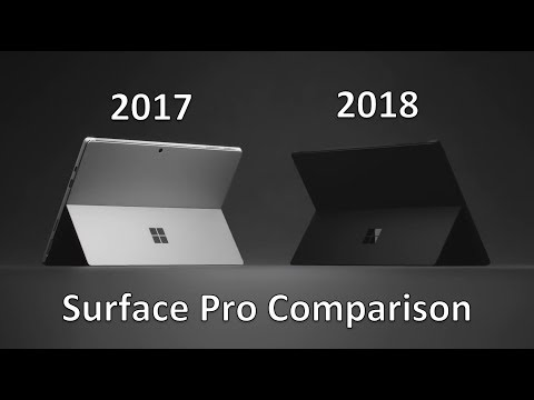 Surface Pro 6 vs Surface Pro 2017 - Differences Explained - Worth Upgrading?