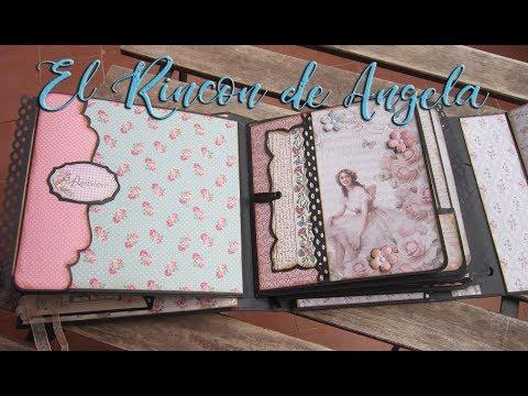 #2 Album vintage-Diy manualidades-Scrap-scrabooking-scrapbook