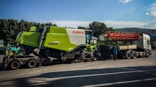 CLAAS LEXION 800-and-prototype | Daikhlo