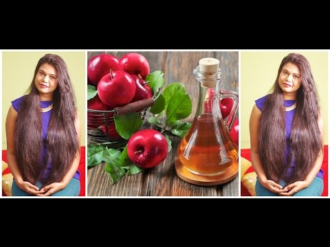 Apple Cider Vinegar Rinse For Shiny and Detoxified Hair