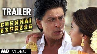 """Chennai Express Trailer"" (Official)   ShahRukh Khan, Deepika Padukone"