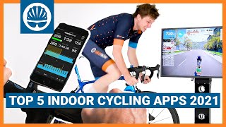 Top 5   2021 Indoor Cycling Apps