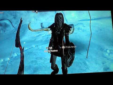 Skyrim xbox360 guide to get a werewolf totem