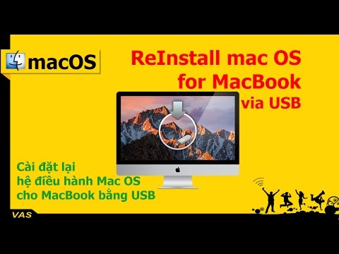 [MacBook - macOS] ReInstall Mac OS for MacBook - Cài lại Mac OS cho máy Macbook