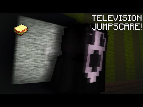 Minecraft | How to make a Working Jumpscare TV