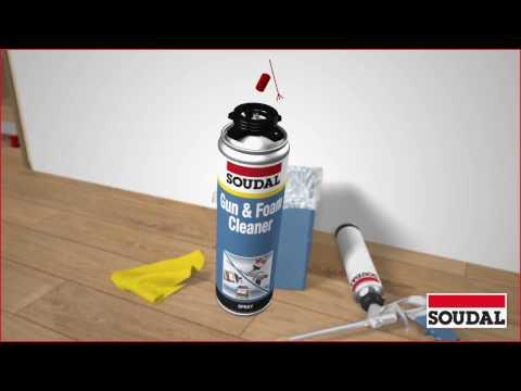 PU Foam Gun - Care, Cleaning, and Maintenance