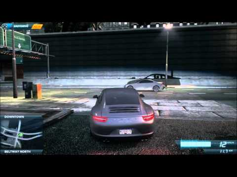 Need For Speed Most Wanted 2012 - Porsche 911 (991) Carrera S [Test drive]