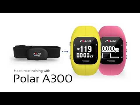 Heart rate training with the Polar A300
