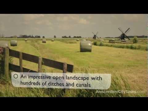 Zaanse Schans. One of Holland's top tourist destinations
