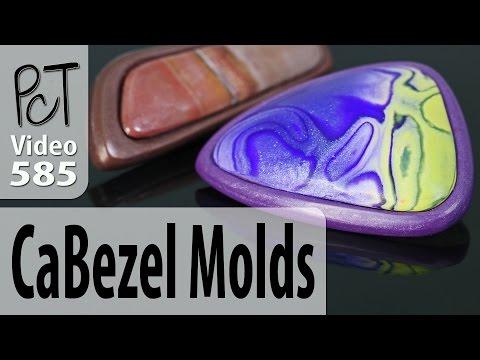 CaBezel Polymer Clay Cabochon and Bezel Molds