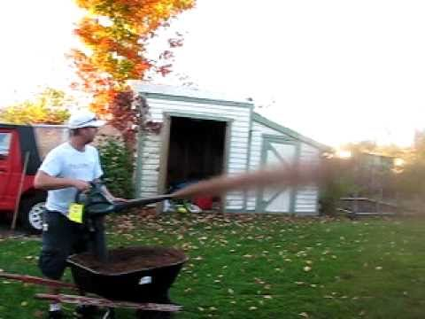 Peat Moss Leaf Blower Part 3