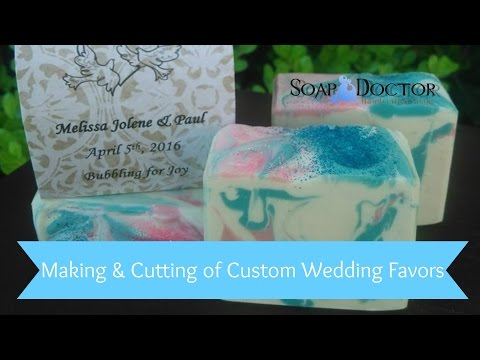 Wedding Favors! Custom Soap order
