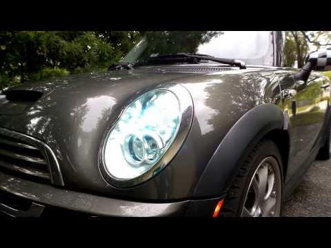 MINI Cooper headlight washer nozzle operation