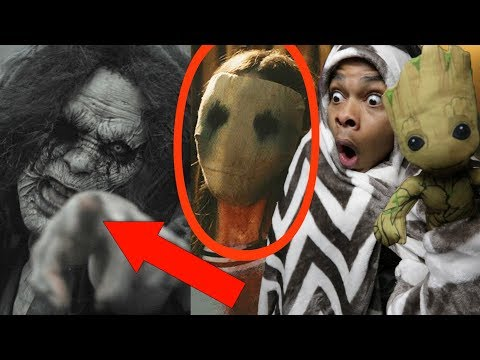 REACTING TO THE MOST SCARY SHORT FILMS ON YOUTUBE #2 (DO NOT WATCH AT NIGHT)