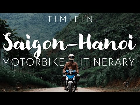 MOTORBIKE VIETNAM - South to North - The Ultimate Itinerary