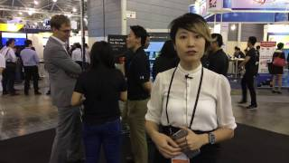 FinTech Festival Highlights Day 3 - Maggie Lim introduces new cashless vending machine