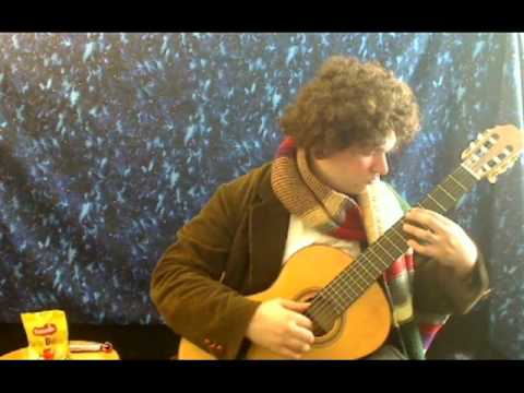 Doctor Who Theme Arranged for Classical Guitar