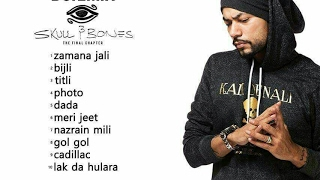 BOHEMIA the punjabi rapper With Wife & TEAMBOHEMIA Celebrate Skull&Bones No1 Album