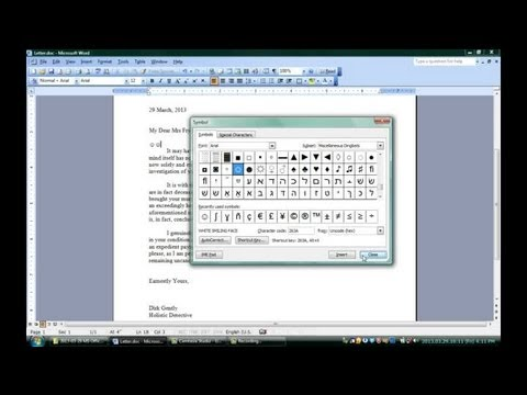 How to Make Smiley Faces in Microsoft Word : Microsoft Office Software