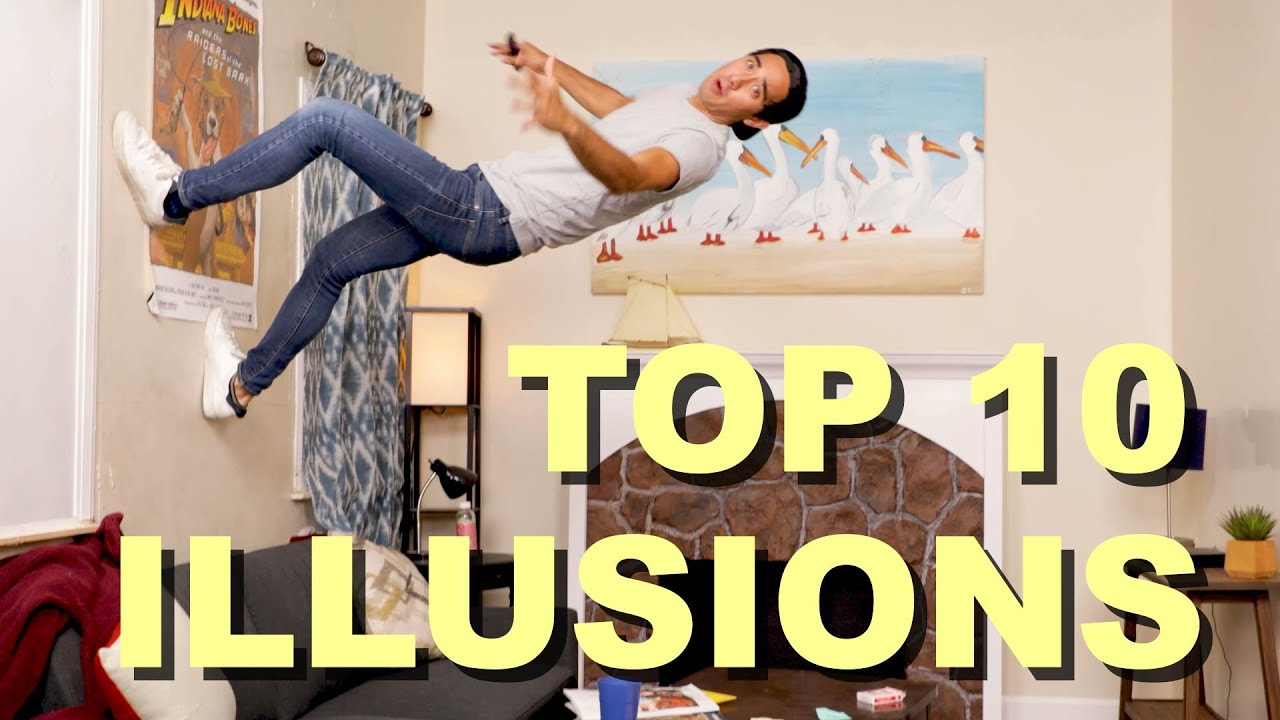My Top 10 Illusions from 2020 - Best of Zach King Compilation