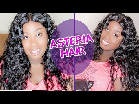 ASTERIA HAIR BRAZILIAN BODY WAVE W/ 3 PART CLOSURE REVIEW (ALIEXPRESS)
