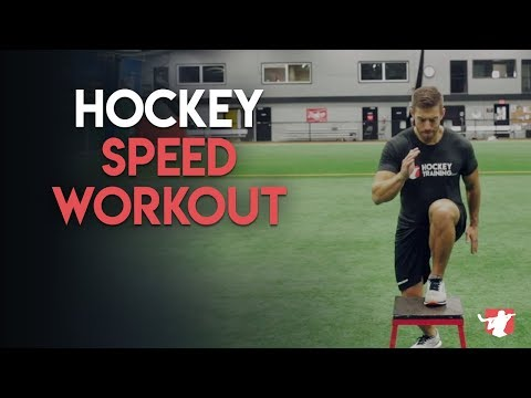 Hockey Speed Workout For Blazing Skating Speed 🏒⚡️