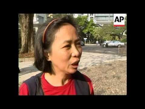 HONG KONG: FILIPINO MAIDS PROTEST AGAINST PAY CUTS