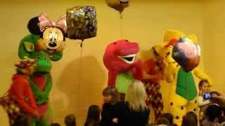 Barney and Friends singing HAPPY BIRTHDAY!!!