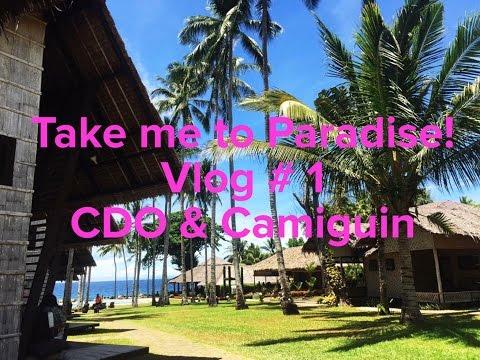 TV01 CDO & Camiguin Travel Vlog   Bahay Bakasyunan Resort and Untouched Paradise - Camiguin!