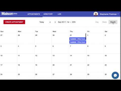 Maison: New Office Hours System